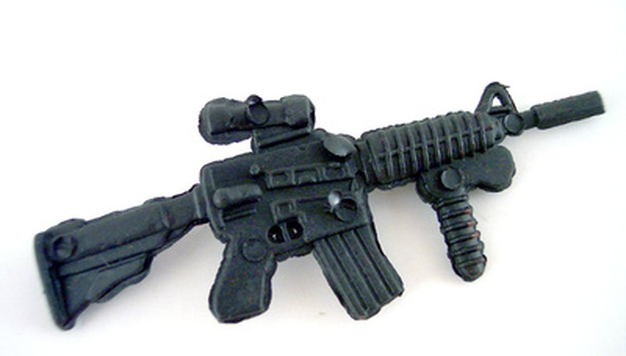Military-style weapons are covered by a Class III license.