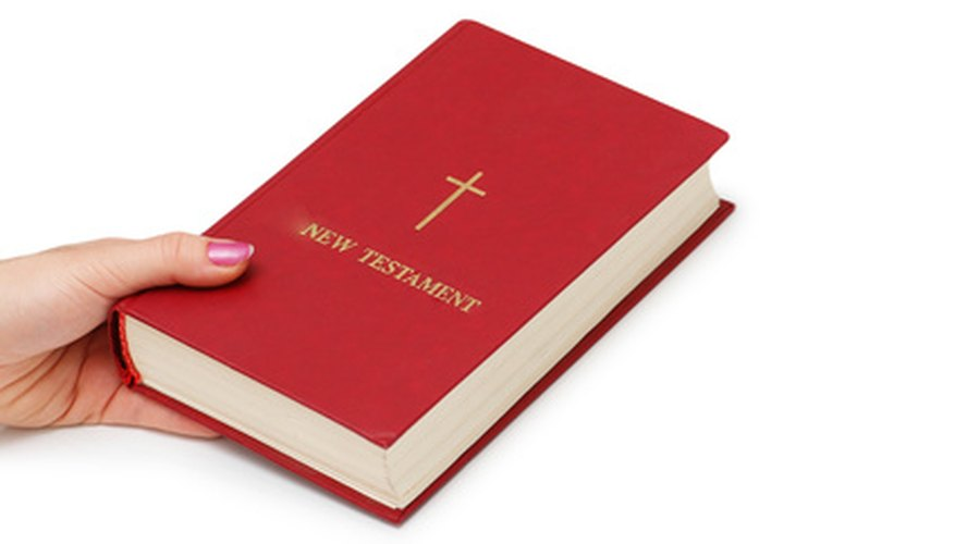 New Testment of the Bible.