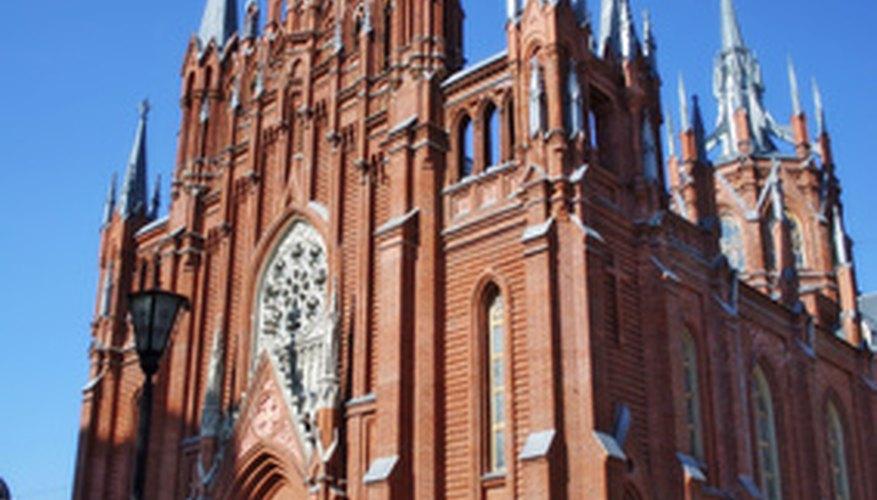 A Roman Catholic church