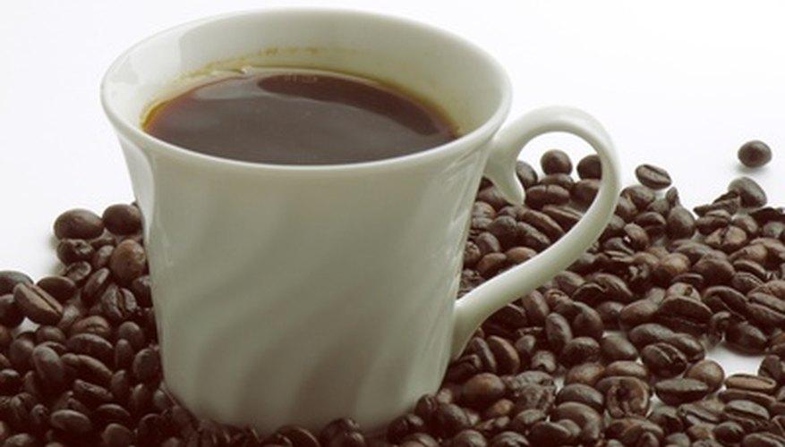 Decaffeinated coffee still contains caffeine.