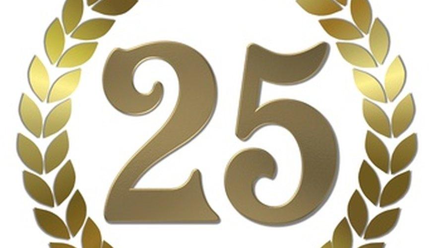 Celebrating a quarter century.