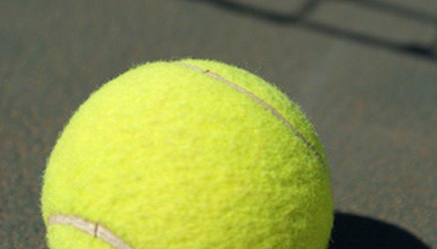 Short tennis can be played with regular tennis balls.