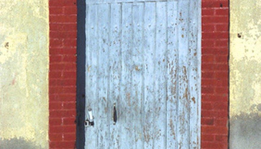 Fix a sagging door frame.