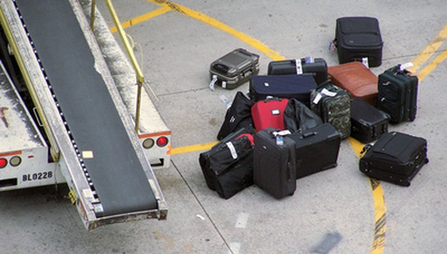 A TSA lock is used to keep luggage secure when travelling by plane.