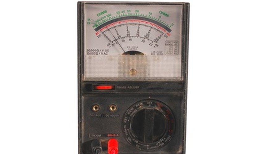 Basic analogue multimeter