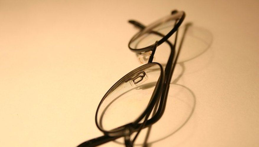 Use your own glasses as a way of measuring proportions.