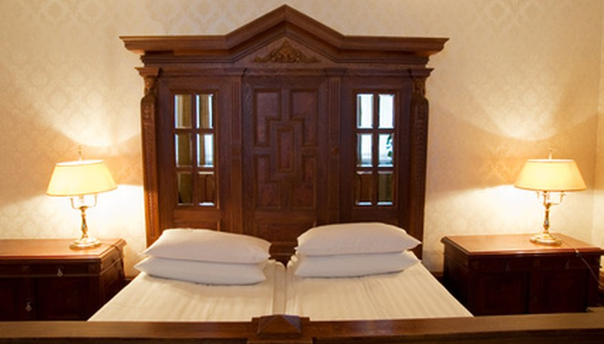 Remove mould from your wooden bed frame promptly to keep it from spreading.