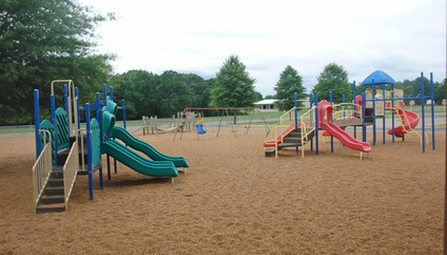 Snapshots of school playgrounds allow older students to reminisce where they played.