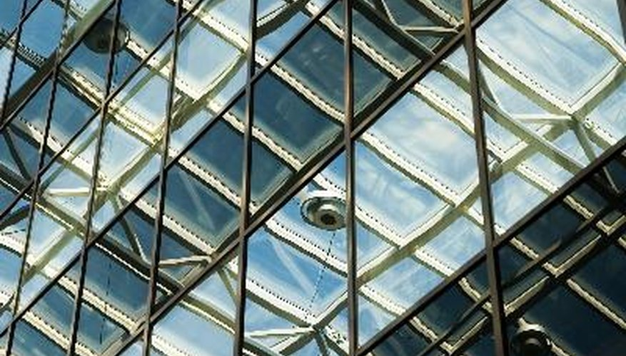 Ceilings in commercial or industrial properties are higher than in residential ones.