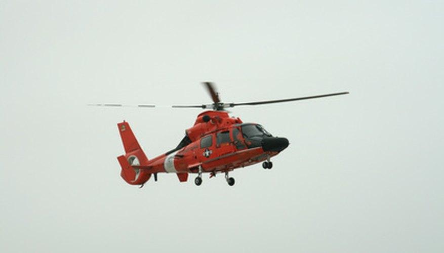U.S. Coast Guard rescue swimmers