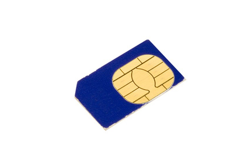 SIM cards are necessary to operate a cell phone.