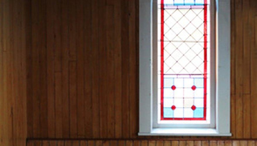 Lancet windows are common in religious architecture.