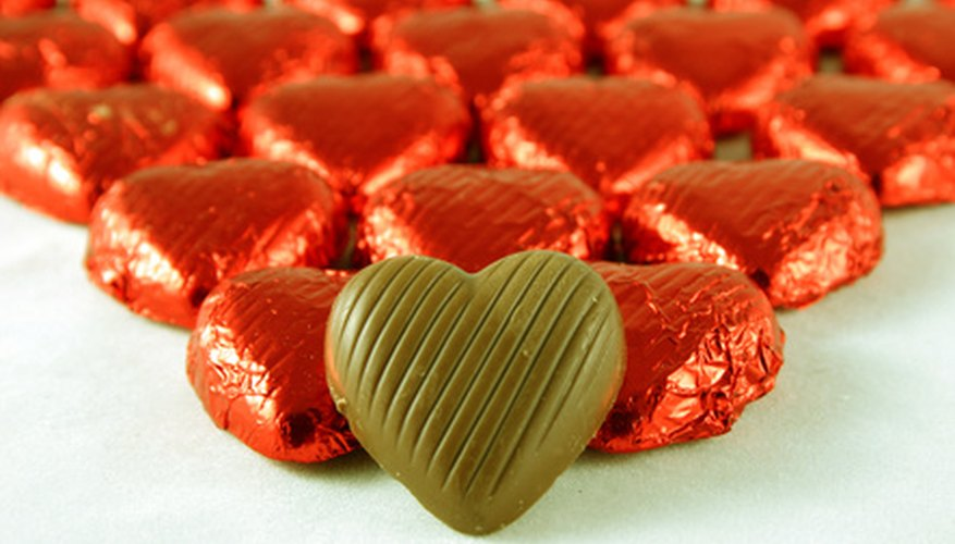 Mould formed chocolates are a popular form of the treat.