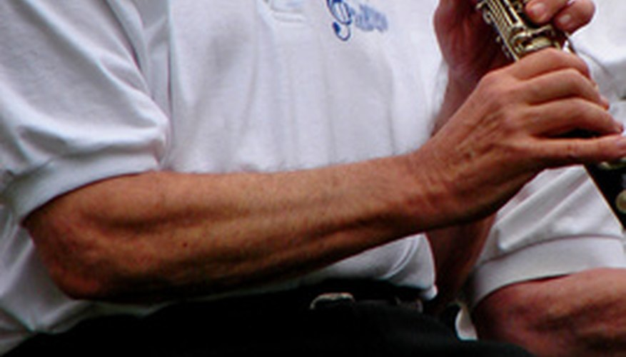 Buffet clarinets are stamped on the side of the upper body with an identifying mark.