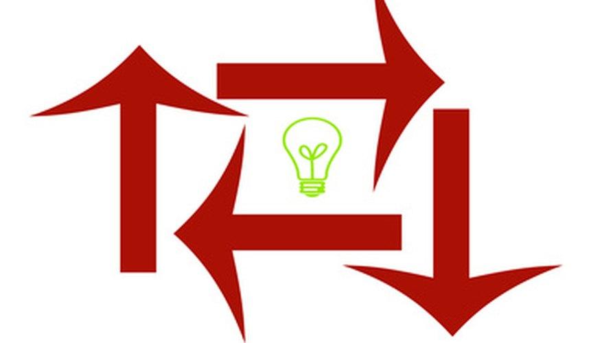 La información y las ideas fluyen en todas las direcciones en la estructura organizacional contemporánea.