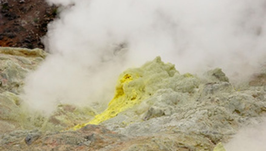 Perlite is a by-product of volcano eruptions.