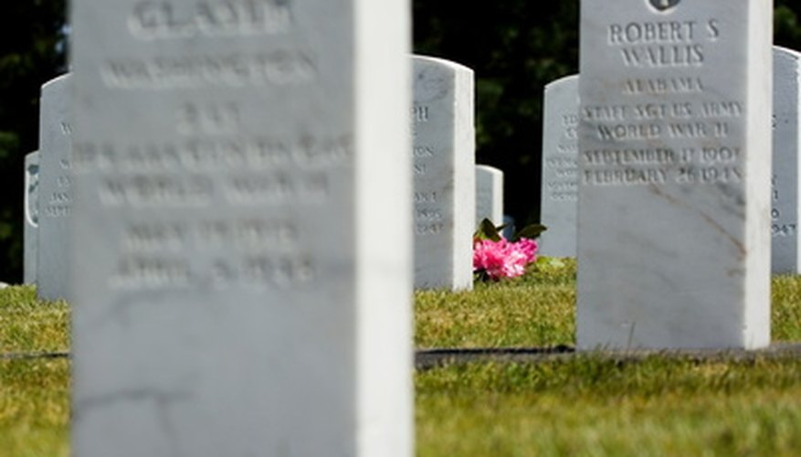 Burial reports can sometimes be accessed through public records.