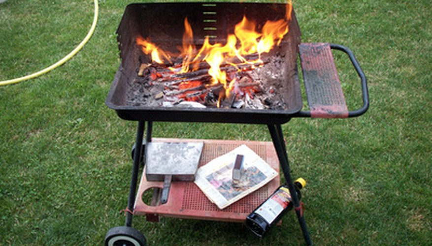 Observe fire safety precautions for barbecuing.
