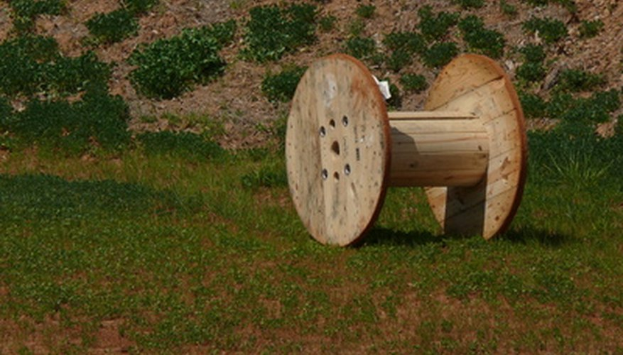 You can buy or obtain for free large wooden spools from utility companies.