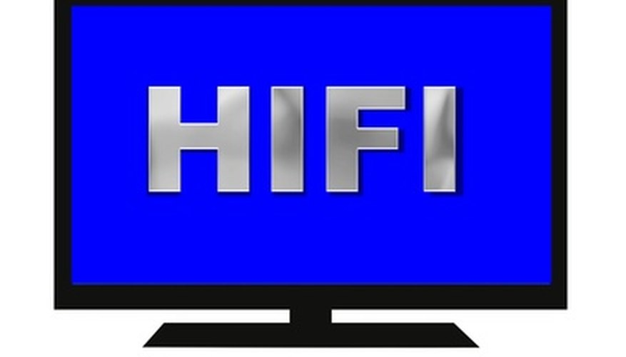 Watch movies on an LCD flat-screen TV.