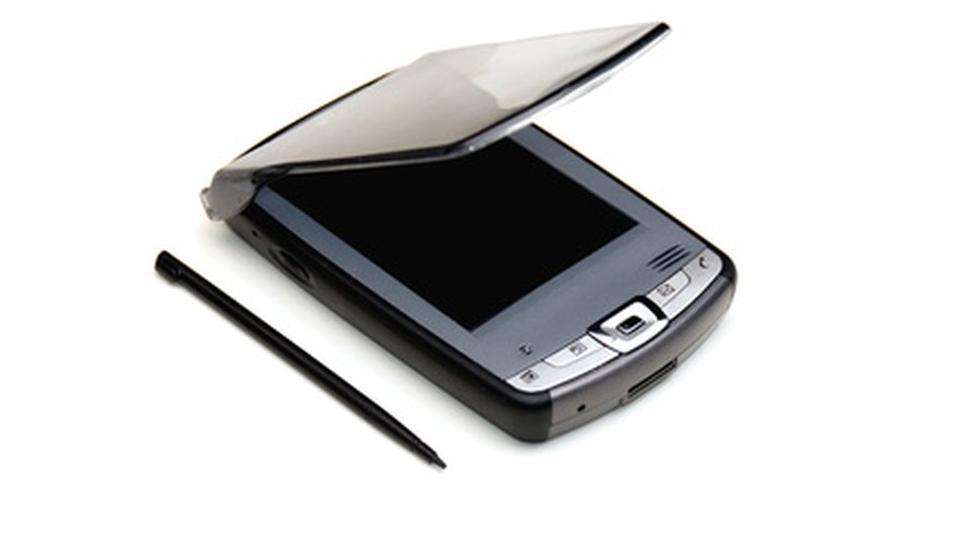 A stylus is used to input information into PDAs with pressure-sensitive screens.