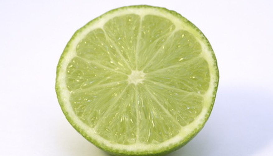 Chemicals found in a lime can help lighten skin.