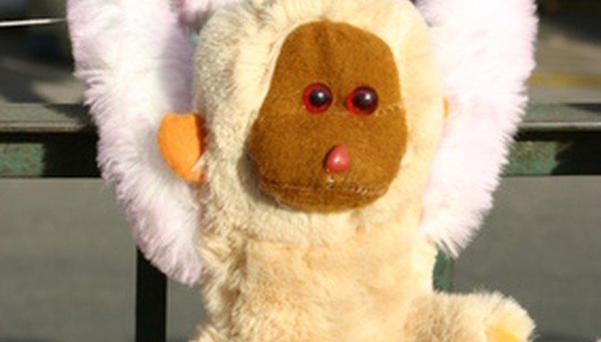 Bean bag toys are often smaller than an average-size stuffed animal.