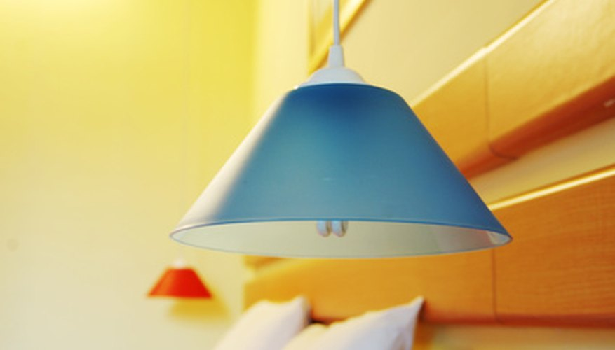 Replace your old fluorescent lights with a new pendant.