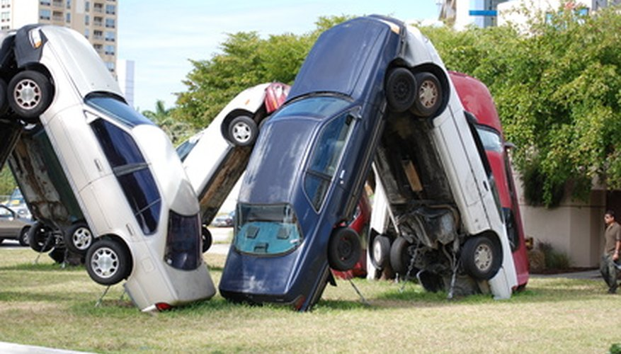 Salvage cars are cheaper alternatives for parts.