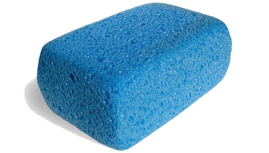 Use clean sponges to remove grease stains from Ugg boots