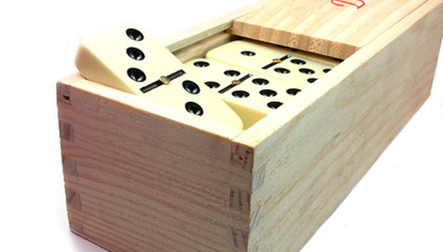 Mexican Train Dominoes allows players to have their own lines or trains of dominoes, which all begin from a single hub.