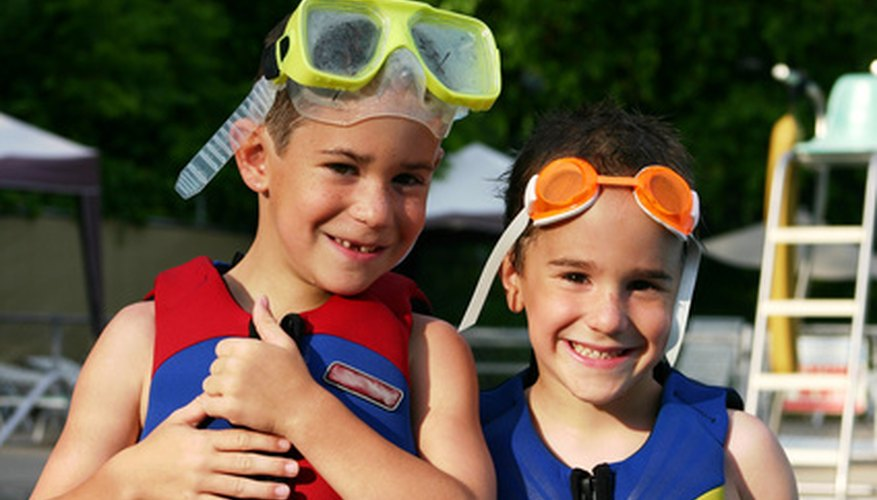 Children under age 13 must wear a PFD when on or near water.