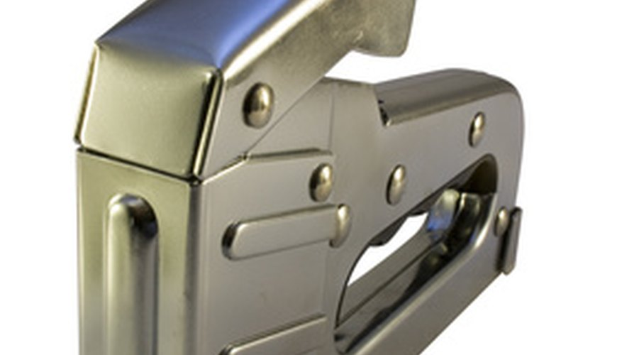 Heavy-duty guns drive staples deep into materials for extra fastening power.