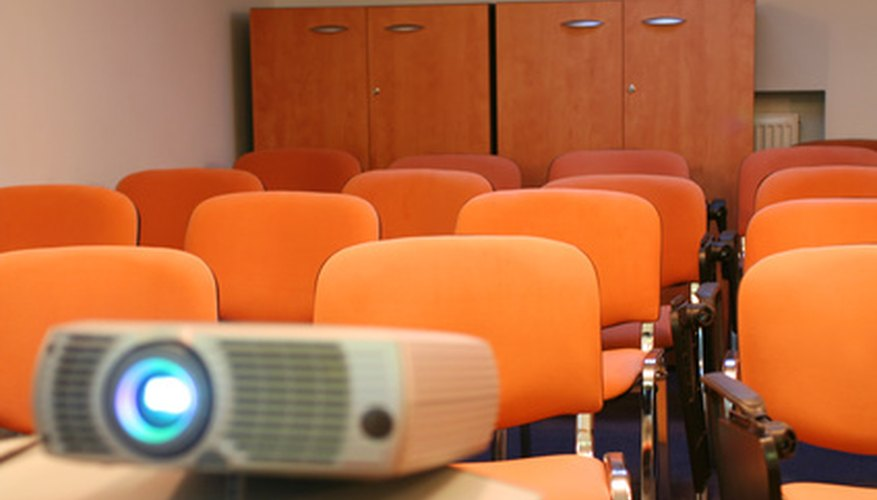 Having an LCD projector can give you greater flexibility when teaching.