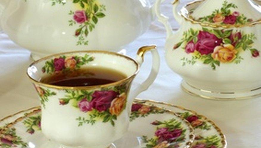 Host an English tea party.