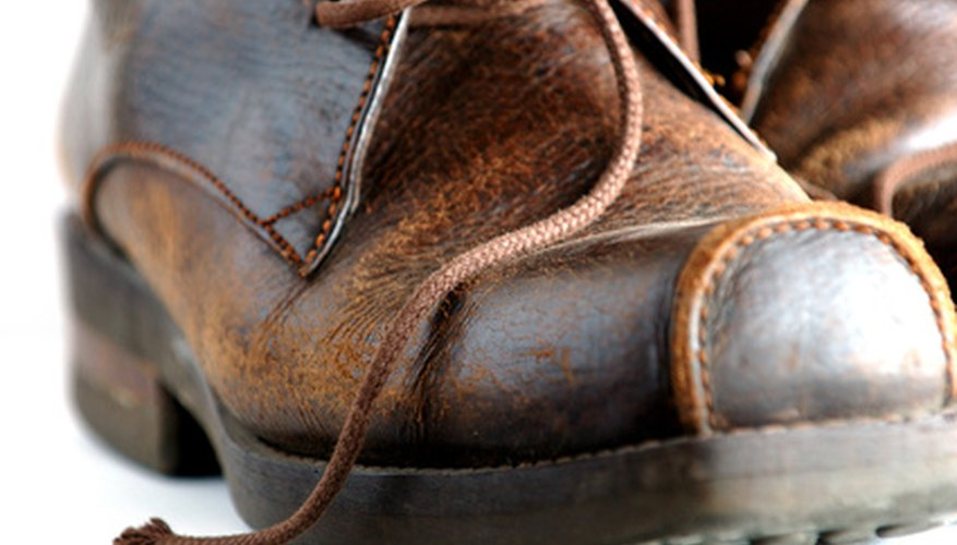 The sun will naturally lighten dark brown shoes.