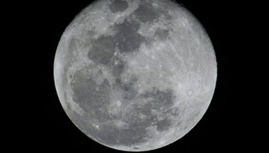 Celebrate a full moon with a themed party.