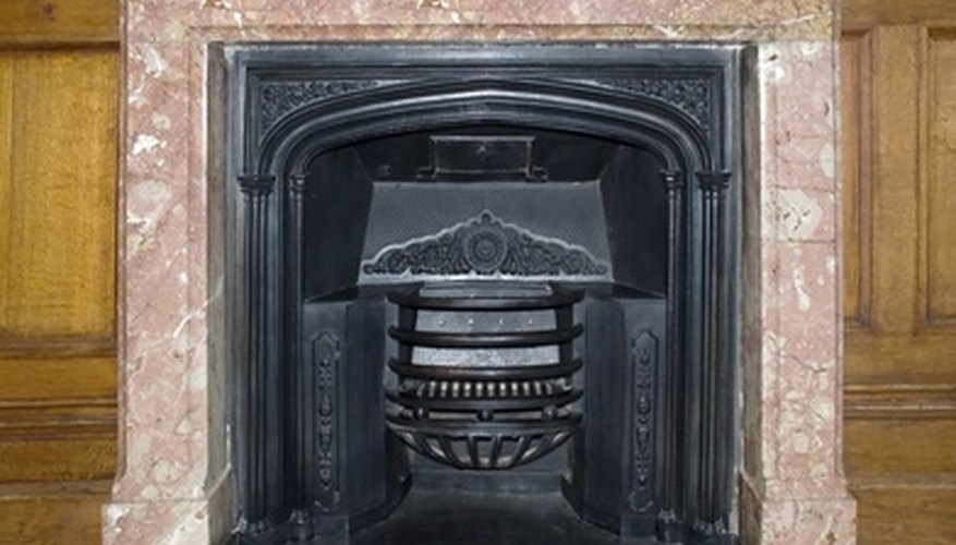 Clean your marble hearth with a pH-balanced stone cleaner or dish soap.