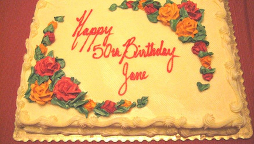 A 50th birthday is a huge milestone.