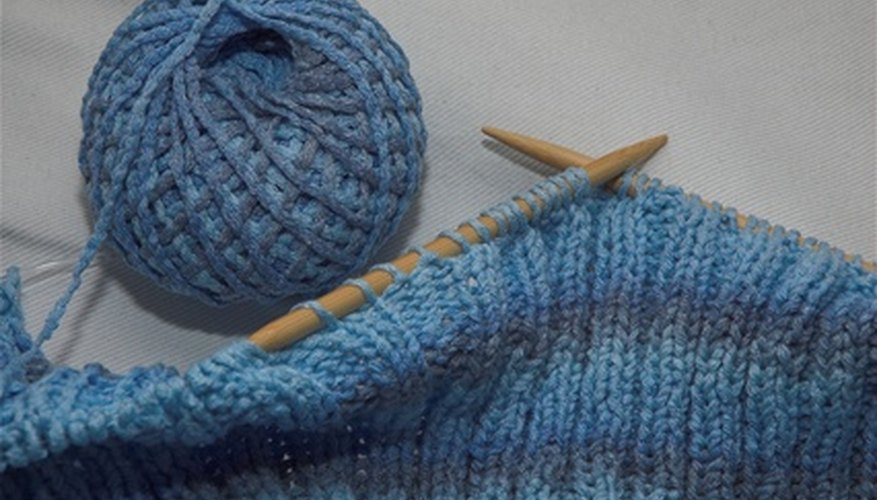 Loom knitting does not require the use of needles.