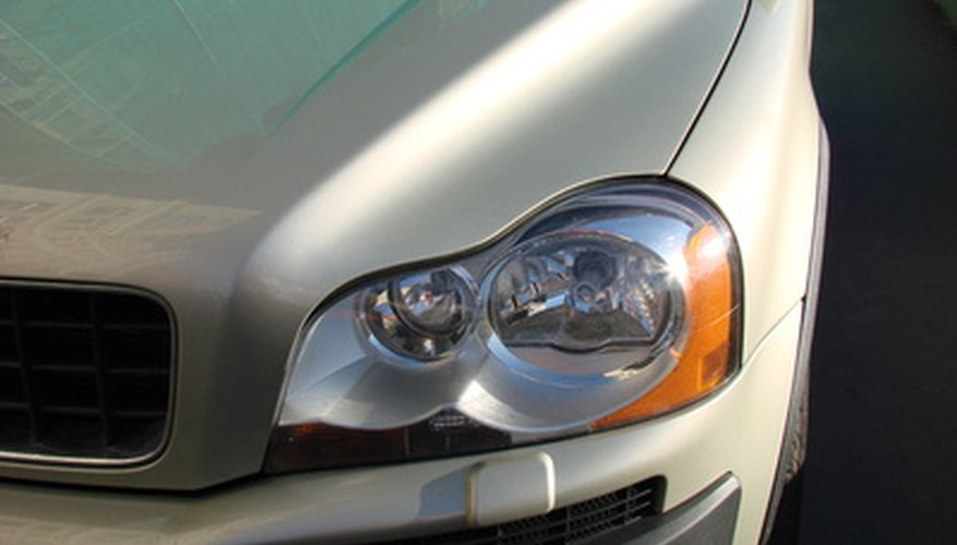 Your car's headlight lens may become cracked over time