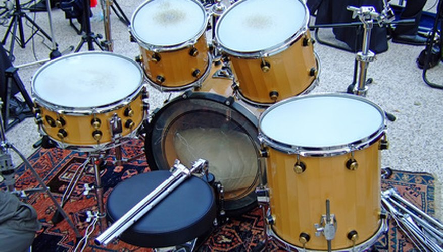 Take your drumset down into smaller pieces.