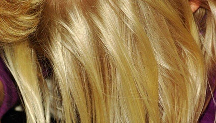 Brunette shampoo can help make your blond hair even richer.