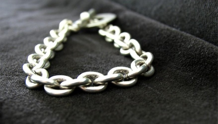 Toggle clasps are usually associated with costume jewellery.
