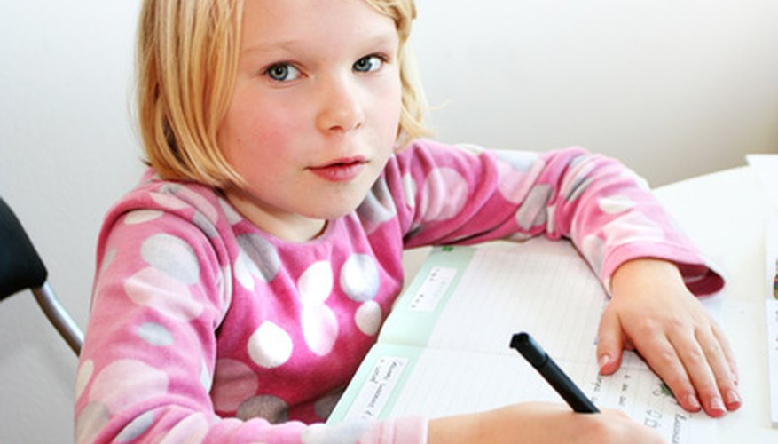 An adult may need to try several different methods when teaching spelling to a child with learning disabilities.