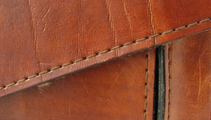 Leather has good durability and can take abuse well.
