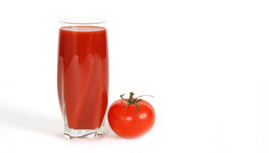 Tomato juice can help to eliminate odours, including the residual smell of perming chemicals.