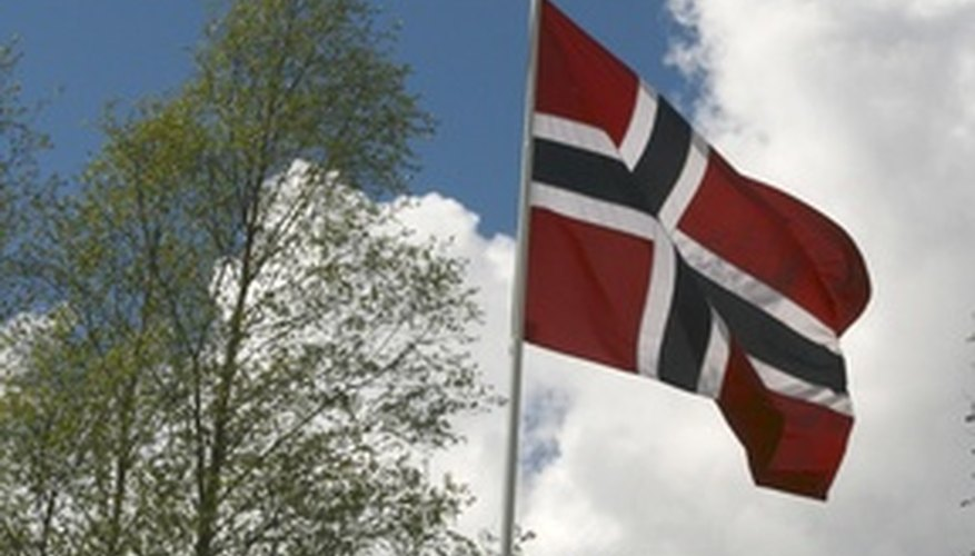 Celebrate Norway by giving a Norwegian wedding gift.