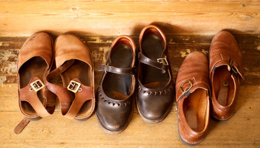 Many products are made with leather.