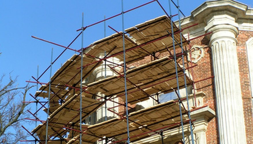 Safety requirements for scaffolds ensure a safe work environment.